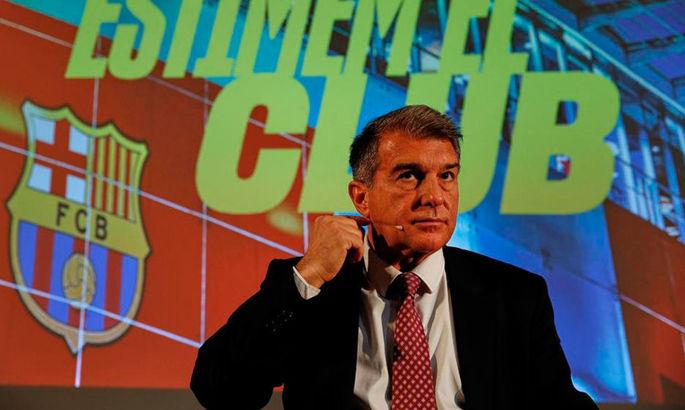 Жуан Лапорта: Коли я був президентом Барселони, Реал у ЛЧ жодного разу не перемагав