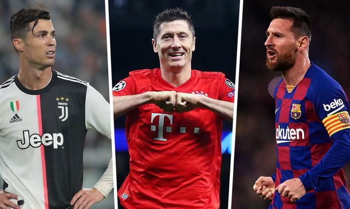 Месси не на правом фланге: УЕФА объявила сборную 2020 года по версии болельщиков