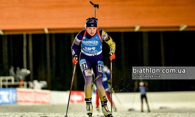 Украинка Бех завоевала бронзу на этапе Кубка IBU