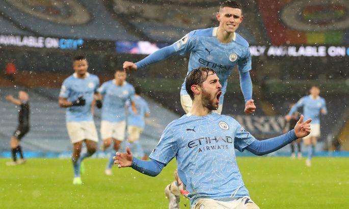 Заслуженно взлетая на первую строчку. АПЛ. Манчестер Сити – Астон Вилла 2:0