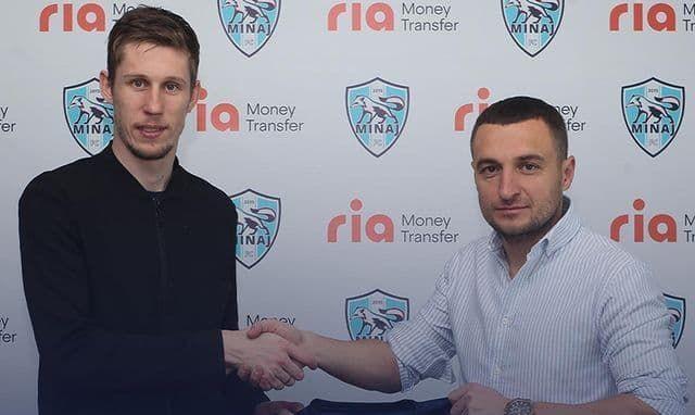 Минай подписал центрбека из Беларуси и опорника из Первой лиги