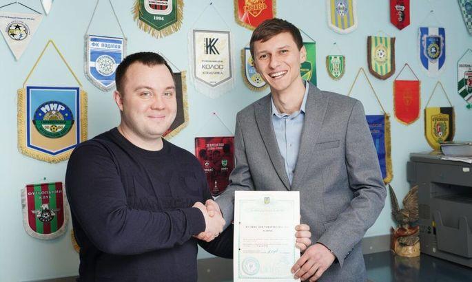 У винницкой Нивы новый президент. 27-летний экс-игрок клуба