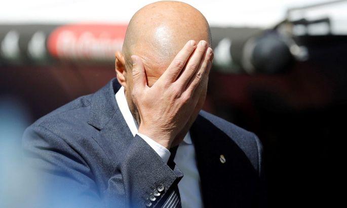 Журналист Marca: Некоторые игроки Реала сообщили мне, что Зидан игнорирует их уже 2-3 месяца