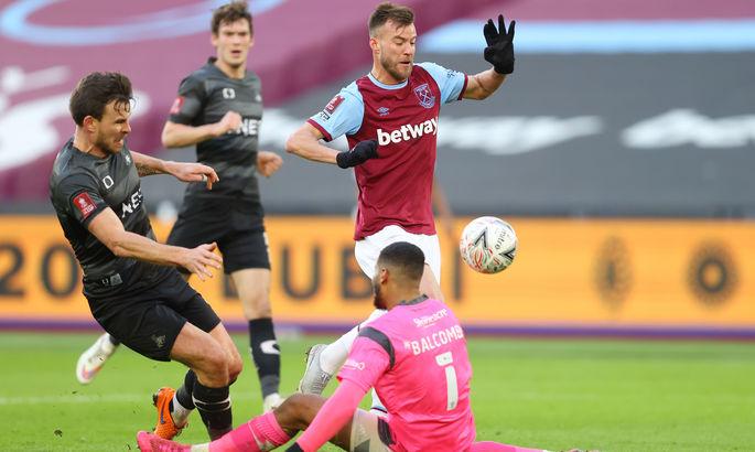 Ярмоленко забил гол за Вест Хэм впервые за четыре месяца