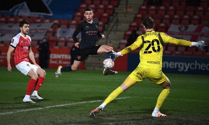 Челтнем Таун - Манчестер Сіті 1:3. Огляд матчу і відео голів