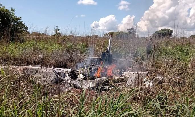 В результате авиакатастрофы погибли четыре игрока и президент бразильского клуба