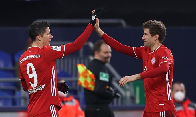Бундеслига. Шальке - Бавария 0:4. Спокойный разгром