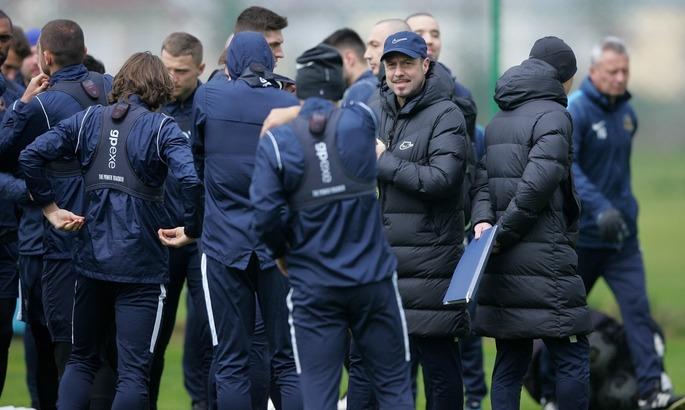 Йовичевич: Это тренерская мечта - иметь 21 довольного футболиста, которые у нас есть