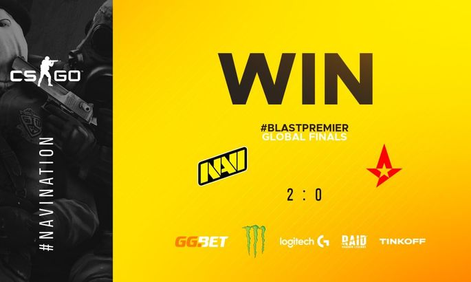NaVi стали чемпионами BLAST Premier: Global Final 2020