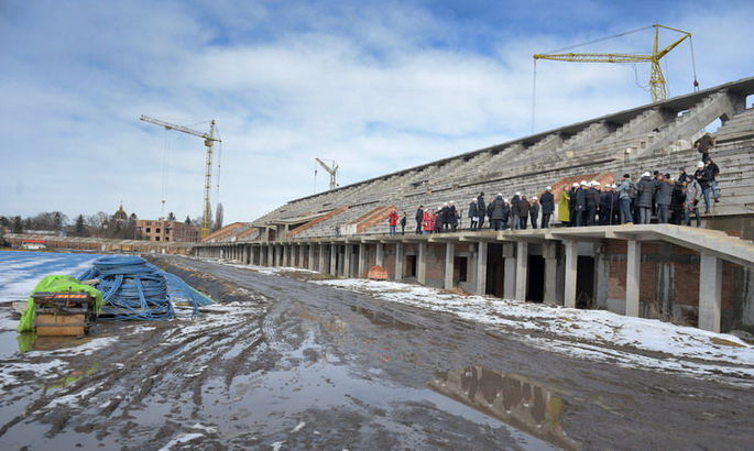 Президент Вереса: Наша позиция такая – город должен дать денег на стадион