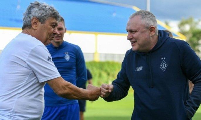 Игорь Суркис рассказал, кому пришла идея пригласить в Динамо Луческу