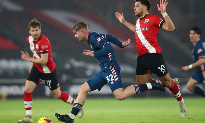 Саутгемптон - Арсенал 1:3 Месть может быть и горячей