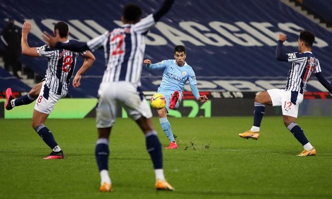 Вест Бромвич - Манчестер Сити 0:5. Уверенный шаг горожан к первому месту