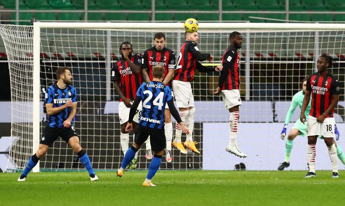 ВИДЕО, как Кристиан Эриксен на 90+7-й вырвал для Интера победу в дерби с Миланом