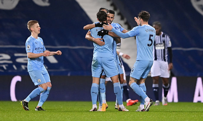 Вест Бромвич - Манчестер Сити 0:5. Видео голов и обзор матча