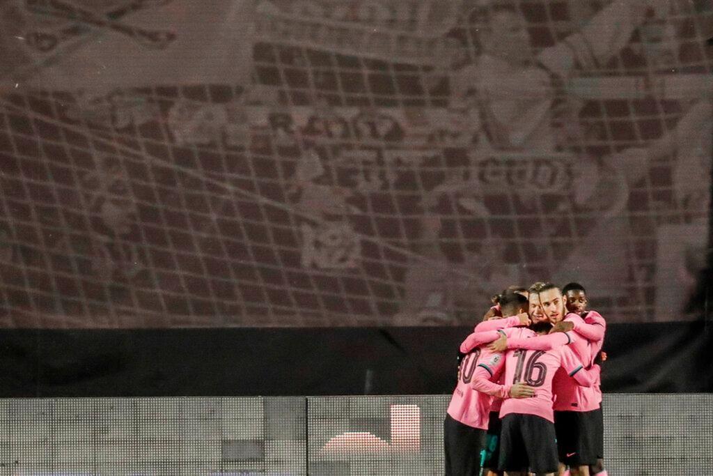 Кубок Испании. 1/8-я финала. Райо Вальекано - Барселона 1:2. Спохватились, когда еще не поздно было - изображение 4