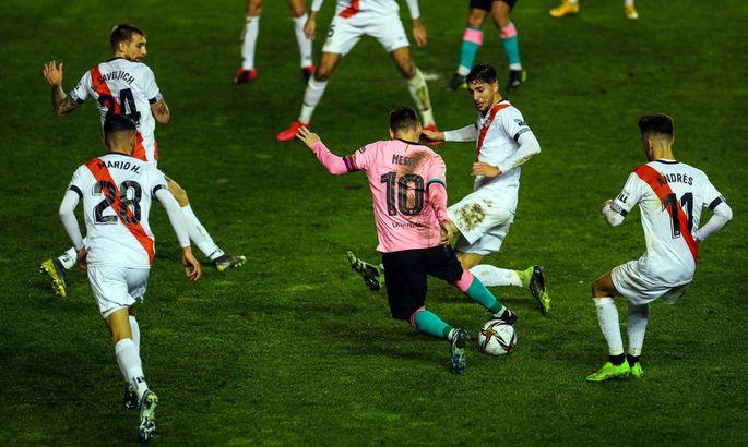 Месси забивает 15+ голов за Барселону уже на протяжении 15 сезонов