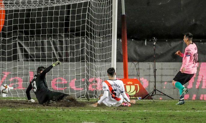 Пришлось доставать характер. Райо Вальекано - Барселона 1:2. Видео голов и обзор матча