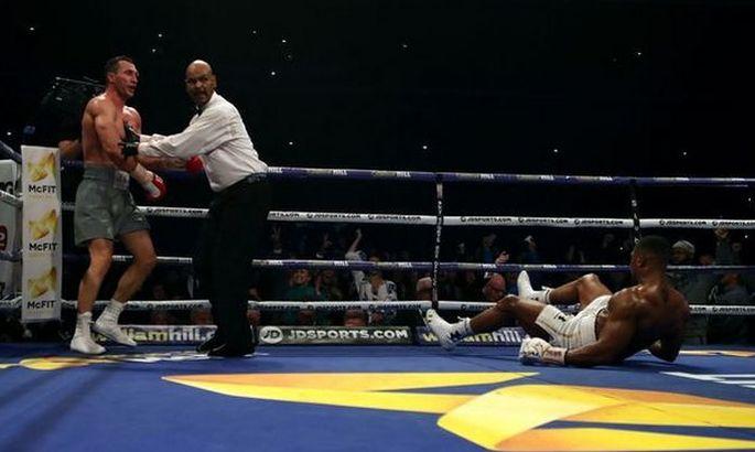 Убойный правый прямой Кличко против Джошуа и еще 24 эпичных удара в боксе. ВИДЕО