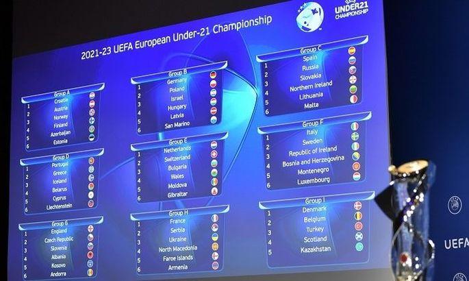 Молодежная сборная Украины узнала соперников по отбору Евро-2023