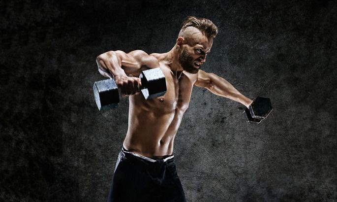 Тренировка плеч: упражнения и программа