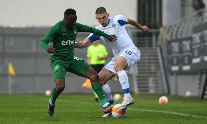 Динамо уступает чемпиону Болгарии