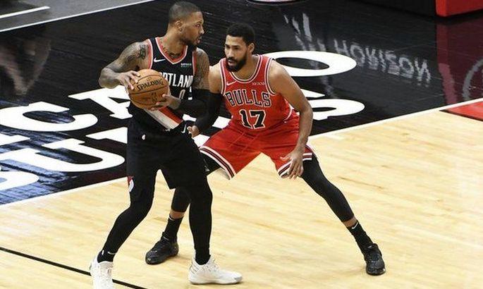 Безумный матч в НБА: Портленд отыграл у Чикаго 5 очков за 8 секунд
