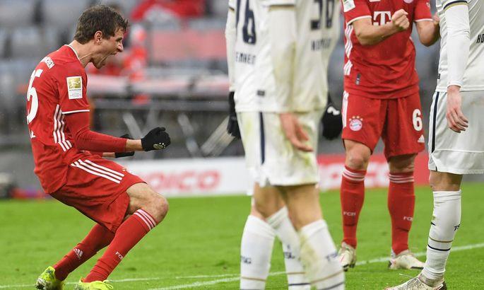 Бавария - Хоффенхайм 4:1. Обзор матча и видео голов