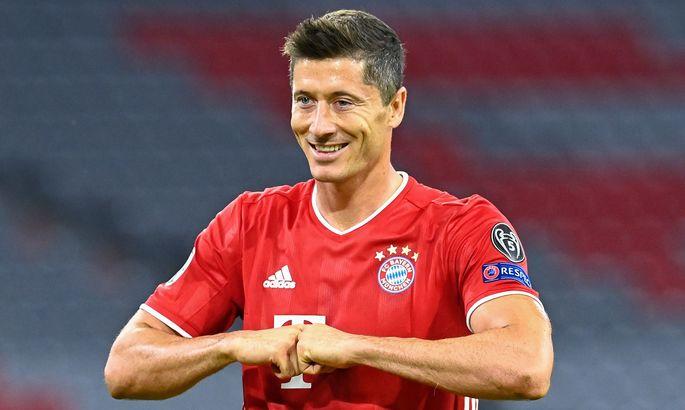 Роберт Левандовский вышел на третье место среди всех бомбардиров Лиги чемпионов