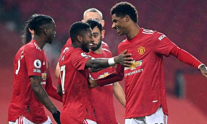 АПЛ. Манчестер Юнайтед уничтожил Саутгемптон, Кристал Пэлас обыграл Ньюкасл