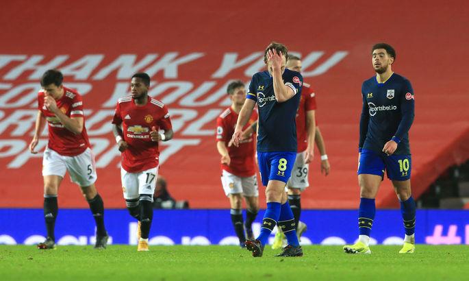 Без комментариев. Манчестер Юнайтед - Саутгемптон 9:0. Видео голов и обзор матча