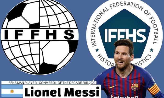 IFFHS: Месси – лучший игрок десятилетия в Южной Америке
