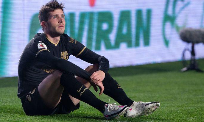 Серхи Роберто расплакался после матча с Баварией