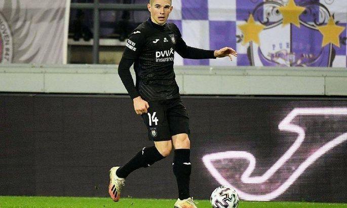 Богдан Михайличенко впервые вышел в составе Андерлехта в 2021 году