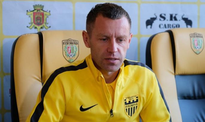 Головний тренер Буковини покинув команду
