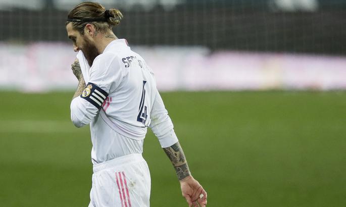 Рамос расплакался во время прощальной речи перед уходом из Реала