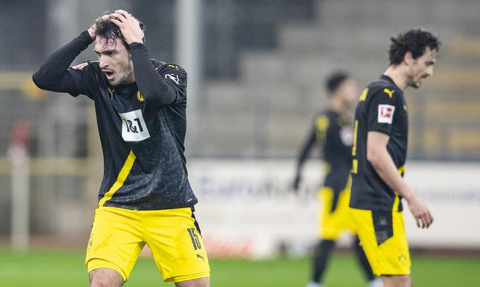 Бундеслига. Восьмое поражение Боруссии Дортмунд, Мустафи ошибается в Шальке, победы Вольфсбурга и Байера