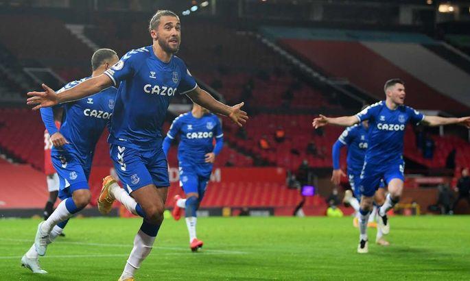 АПЛ. Манчестер Юнайтед - Эвертон 3:3. Замена Сульшера привела к спасительному голу ирисок