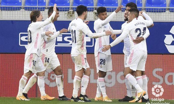 Варан відповідає критикам. Уеска – Реал 1:2. Огляд матчу та відео голів
