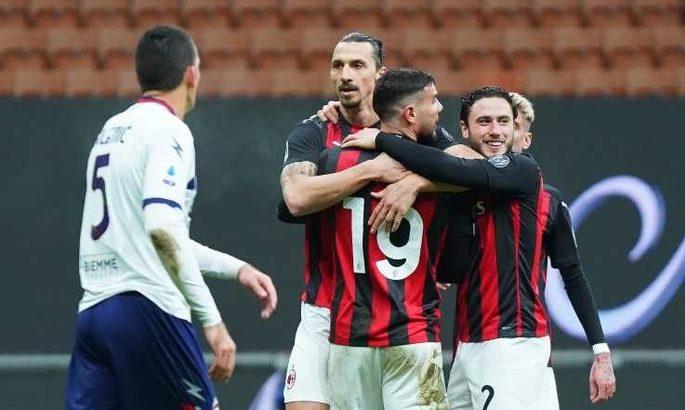Серия А. Милан остаётся первым, Верона, Беневенто и Сампдория - середняками