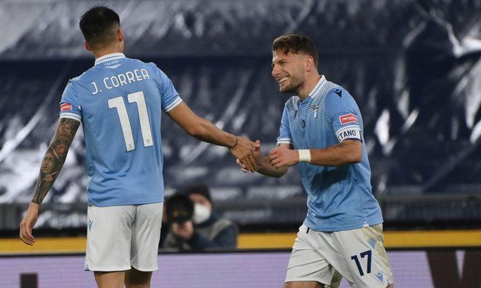 Серия А. Шестая победа Лацио подряд