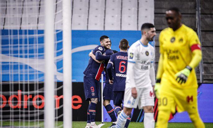 Лига 1. Марсель - ПСЖ 0:2. Лучшая игра Парижа при Почеттино
