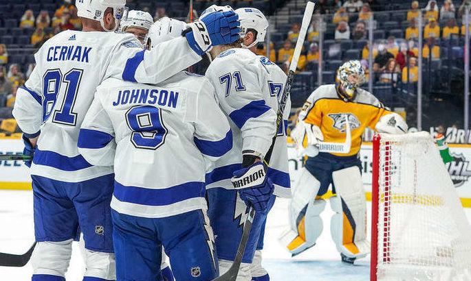 НХЛ: Тампа відвезла перемогу з Детройта