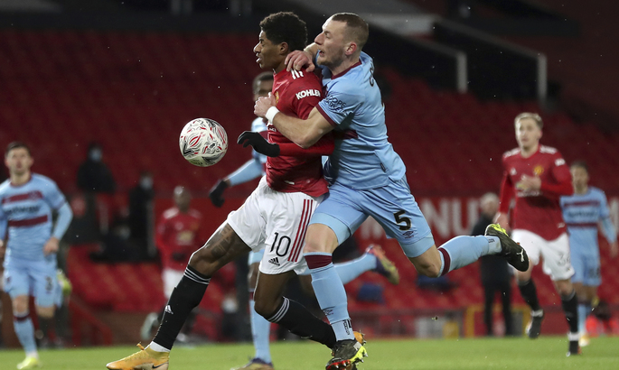 Кубок Англии. Манчестер Юнайтед - Вест Хэм 1:0. Матч неиспользованных возможностей