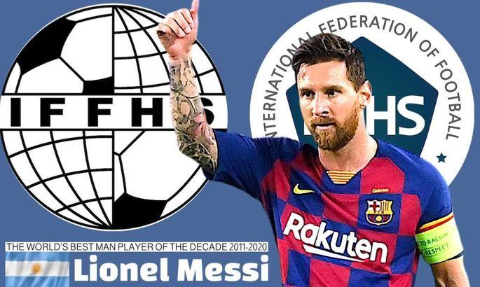 Роналду дышит в спину: Месси – лучший игрок десятилетия по версии IFFHS