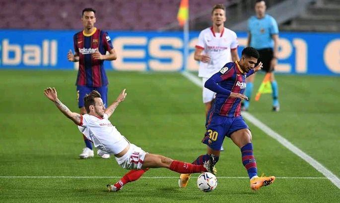 Севилья - Барселона. Смотреть онлайн LIVE прямую видеотрансляцию матча чемпионата Испании