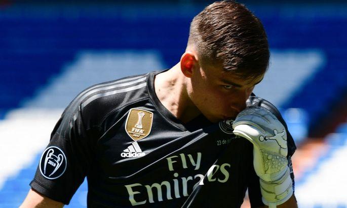 Нарезка ярких сэйвов как подарок: Реал поздравил Андрея Лунина с Днем рождения