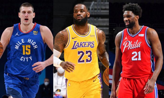 ЛеБрон, Ембіід або Йокіч. Хто очолює гонку за MVP в НБА?