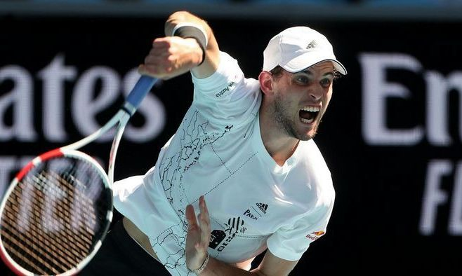 Australian Open. Тим отыграл у Кирьоса два сета и вышел в 1/8 финала