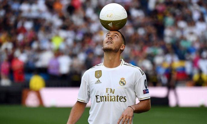 Полный провал: Азар играет за Реал реже, чем Кака и Бэйл